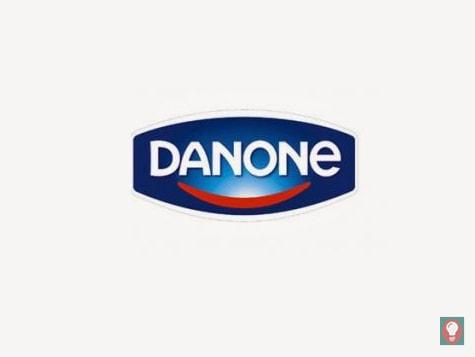 logo Danone actual