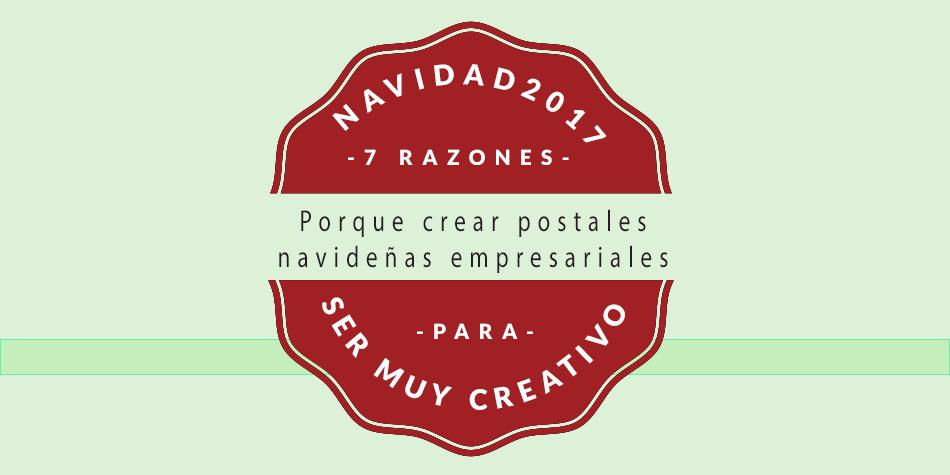 Una de diseño de postales navideñas, postal de navidad