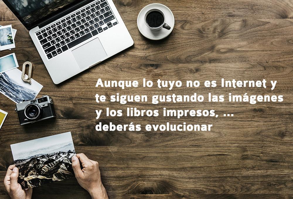 Escribir un blog evolucionar