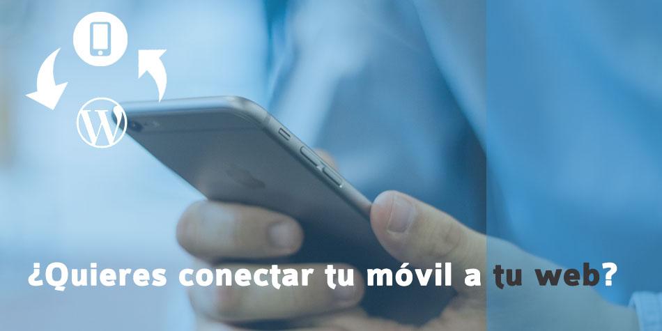conectar el móvil a tu web