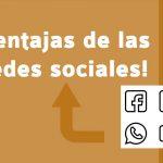 10 ventajas de redes sociales