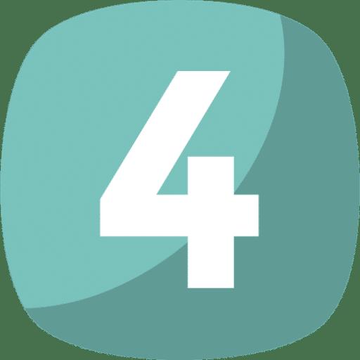 icono cuatro