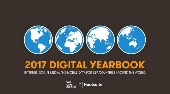 estudio usuarios internet y redes sociales 2017