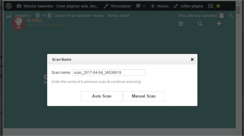 p3-performance profiler wordpress scan now