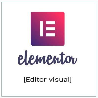 elementor editor visual de wordpress