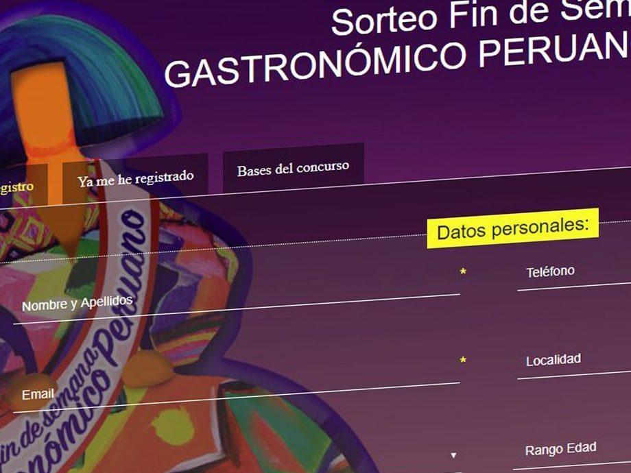 landing concurso gastronomico-online