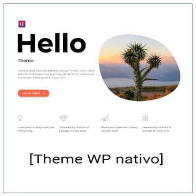 theme de WordPress nativo